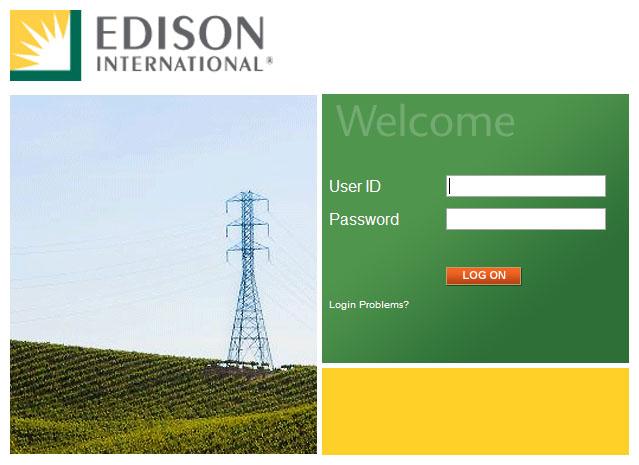 Edison International Portal Login